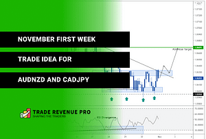 November First Week - Trade Ideas for AUDNZD and CADJPY - Forex Weekly Trade Setups