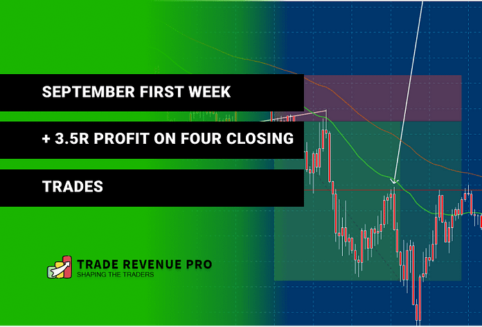 Just a Normal Trading Week, 3.5R Gain in the First Week of the September