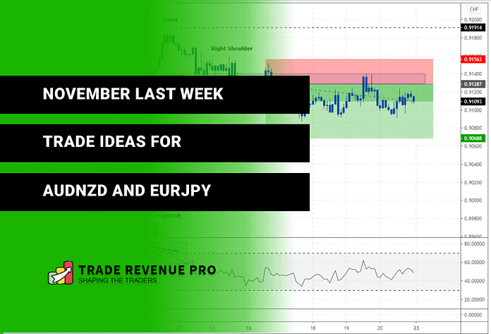 November Last Week 2020 – Trade Ideas For AUDNZD And EURJPY